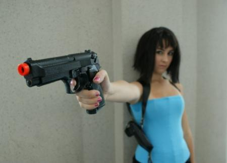 Jill Valentine from Resident Evil worn by Miss Nintendo