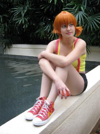 Misty / Kasumi from Pokemon worn by Priscilla