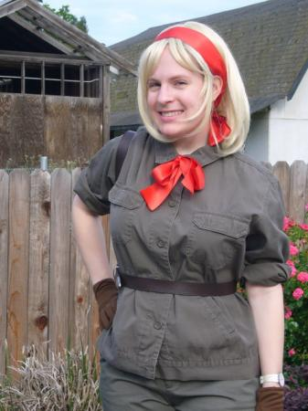 Belgium from Axis Powers Hetalia worn by Mirai Noah