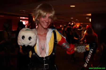 Tidus from Final Fantasy X worn by Cid