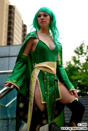 Rydia from Final Fantasy IV worn by Dahlia