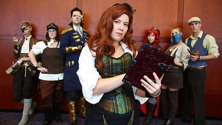 Margret Rosemary MacQueen (Peggy) from Original: Steampunk worn by JackieP