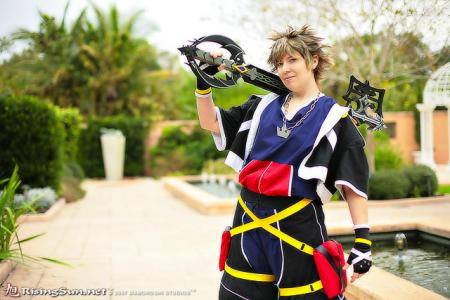 Sora from Kingdom Hearts 2 worn by JackieP