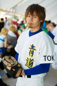Isashiki Jun from Ace of Diamond