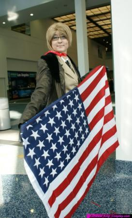 America / Alfred F. Jones from Axis Powers Hetalia worn by Renoke