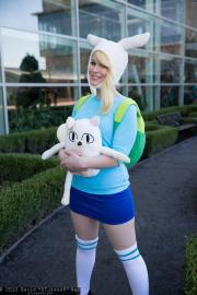 Fionna from Adventure Time with Finn and Jake worn by Voxane