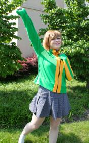 Chie Satonaka from Persona 4 worn by Voxane