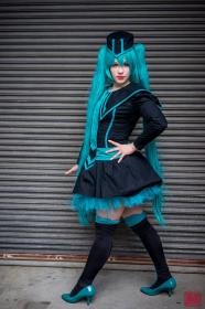Hatsune Miku from Vocaloid 2 worn by Voxane