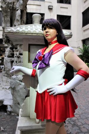 Super Sailor Mars from Sailor Moon Crystal worn by Jazqui
