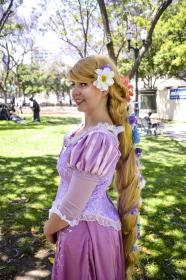 Rapunzel from Tangled worn by Jazqui