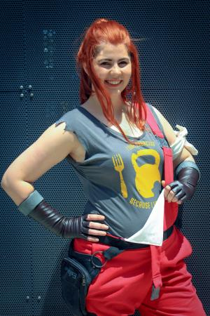 Brigitte from Overwatch worn by Jazqui