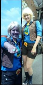 Linka from Captain Planet