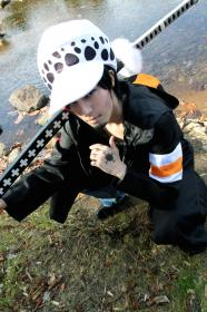Trafalgar Law from One Piece worn by ニャンコメシュ