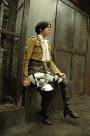 Levi from Attack on Titan worn by ニャンコメシュ