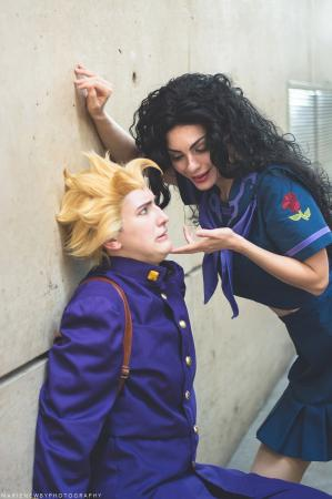 Yukako Yamagishi from Jojo's Bizarre Adventure