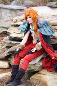 Lina Inverse from Slayers worn by Neoqueenhoneybee