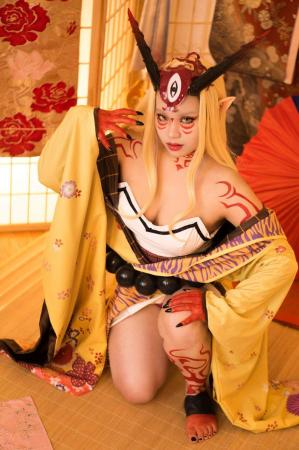 Ibaraki Douji from Fate/Grand Order by Lunatique