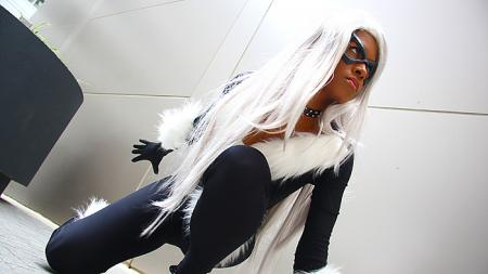Black Cat from Spider-man worn by Blikku