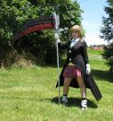 Maka Albarn from Soul Eater worn by LittleNevermoreBird