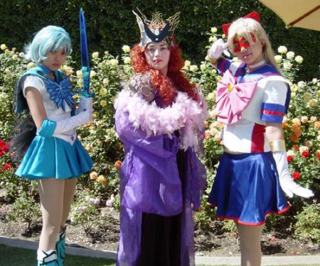 Dark Mercury from Pretty Guardian Sailor Moon