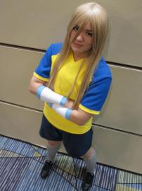 Aphrodi from Inazuma Eleven worn by jellybooger