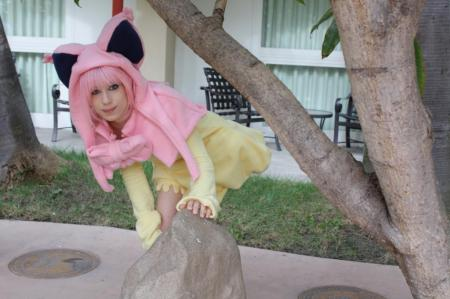 Skitty from Pokemon worn by MangaFreak150