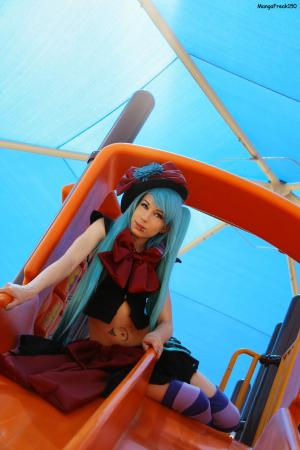Hatsune Miku from Vocaloid 2 worn by MangaFreak150
