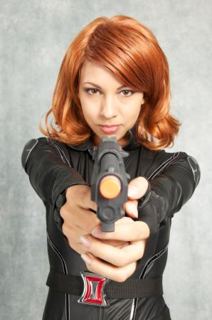 Black Widow - Natalia Romanova from Avengers, The by Momo Kurumi