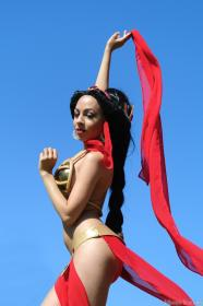 Jasmine from Aladdin worn by Momo Kurumi