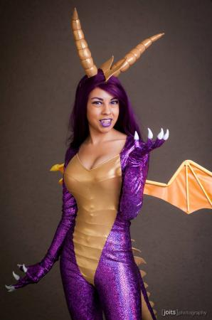 Spyro the Dragon from Spyro by Momo Kurumi