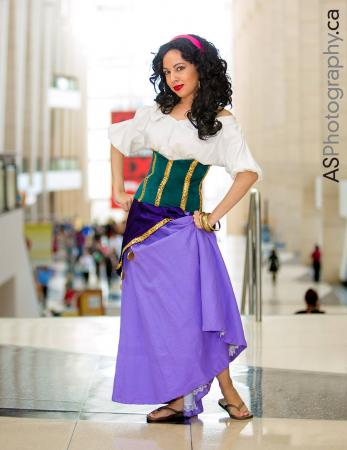 Esmeralda from Hunchback of Notre Dame by Momo Kurumi