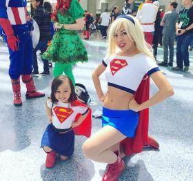 Supergirl from Superman worn by Momo Kurumi