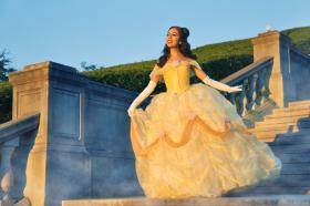 Belle from Beauty and the Beast worn by Momo Kurumi