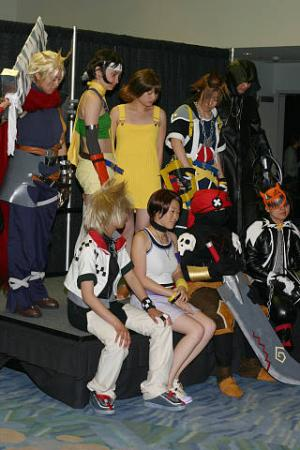 Heartless from Kingdom Hearts worn by Makkura