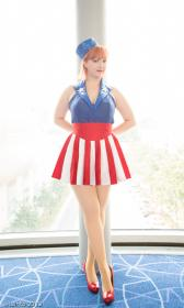 USO Girl from Captain America worn by liivingdeadgirl