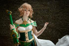Fuu Hououji from Magic Knight Rayearth worn by Melvin