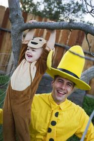 The Man with the Yellow Hat from Curious George worn by EverythingMan