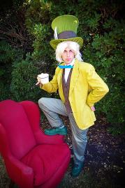 The Mad Hatter from Alice in Wonderland worn by EverythingMan