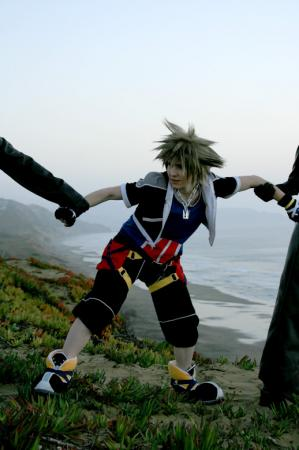 Sora from Kingdom Hearts 2 (Worn by Ame!)