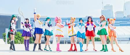 Super Sailor Moon from Sailor Moon S worn by Envel