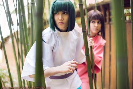 Haku from Spirited Away by firewolf826