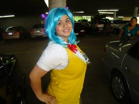Kurumu Kurono from Rosario + Vampire worn by T3N