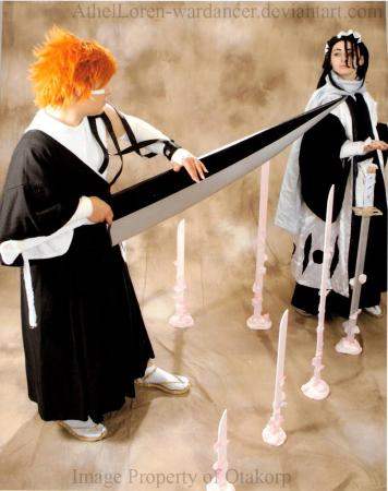 Kuchiki Byakuya from Bleach worn by Athel