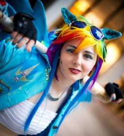 Rainbow Dash from My Little Pony Friendship is Magic worn by Athel