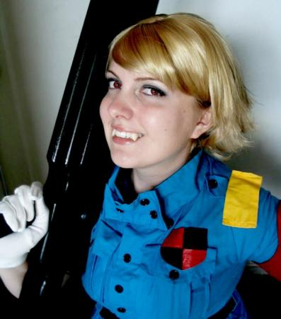 Victoria Seras from Hellsing worn by Faraday