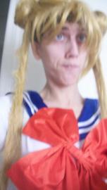Sailor Moon from Sailor Moon worn by Rachel