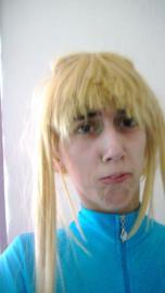 Samus Aran from Metroid worn by Rachel