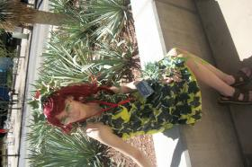 Poison Ivy from Batman worn by Rachel