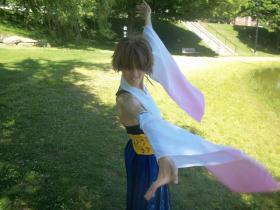 Yuna from Final Fantasy X worn by Rachel