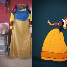Snow White from Snow White and the Seven Dwarfs worn by Rachel